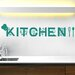 Cut It Out Wall Stickers Vine Kitchen Sign Wall Sticker