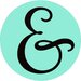 Cut It Out Wall Stickers Ampersand in Circle Door Room Wall Sticker