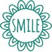 Cut It Out Wall Stickers Smile within Sunflower Door Room Wall Sticker
