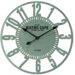 EMDÉ Shabby Elegance Bistro Oversized 60 cm Vintage Metal Clock