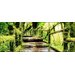 Pro-Art Glasbild Mossy Bridge, Kunstdruck