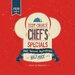 Pro-Art Glasbild Retro Chef's Special, Kunstdruck