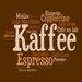 Pro-Art Glasbild Kaffee Mix II, Kunstdruck