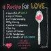 Pro-Art Glasbild A Recipe For Love, Kunstdruck