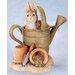 Beatrix Potter Peter Rabbit in Watering Can Figure