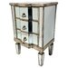 Fairmont Park Cleethorpes 3 Drawer Bedside Table