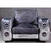 TheWoodTimes 2-Sitzer Einzelsofa Gripe aus Leder