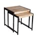 Borough Wharf Canonero 2 Piece Nest of Tables