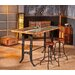 Borough Wharf Carsonhill Adjustable Height Dining Table