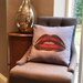 Amoloulou Lips Scatter Cushion