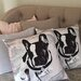 Amoloulou French Bulldog Scatter Cushion