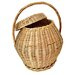 Artesania San Jose Round Basket with Cover