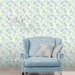 Galerie Home English Florals on Coloured Ground 10m L x 53cm W Roll Wallpaper