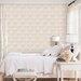 Galerie Home Vintage Fuzzy Damask Motif 10m L x 53cm W Roll Wallpaper