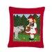 Feiler KissenbezugRotkäppchen aus 100% Baumwolle