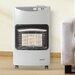 Igenix 4200 Watt Portable Gas Fan Utility Heater with Wheels