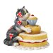 Enesco Comic and Curious Cats Bake Off Figurine