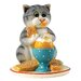 Enesco Comic and Curious Cats Mummy's Little Solider Figurine