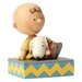 Enesco Peanuts Happiness Is Snuggling (Charlie Brown with Snoopy) Figurine