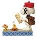 Enesco Peanuts Campfire Friends (Snoopy and Woodstock) Figurine