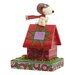 Enesco Peanuts The Flying Ace (Snoopy) Figurine