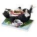 Enesco Comic and Curious Cats Take a Break Figurine