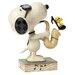Enesco Peanuts The Blues Beagle (Joe Cool and Woodstock) Figurine