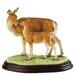 Enesco BFA Studio Red Deer Hind and Calf Figurine