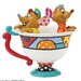 Enesco Disney Britto Jaq and Gus in Tea Cup Figurine