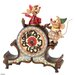 Enesco Disney Traditions A Stitch in Time Jaq and Gus Tabletop Clock