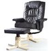 Charles Jacobs Recliner and Footstool