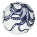 Cream Cornwall Maritime Octopus Cereal Bowl