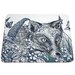 Cream Cornwall Fox Placemat