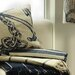 Cream Cornwall Anchor Scatter Cushion