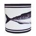 Cream Cornwall 20cm Maritime Linen Drum Pendant Shade