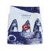 Cream Cornwall Mackerel Heads Tea Towel