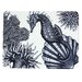 Cream Cornwall Seahorse Placemat