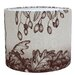 Cream Cornwall 30cm Game and Garden Linen Drum Pendant Shade