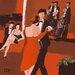 """DEInternationalGraphics """"Jazz Club"""" von Bernard Ott, Kunstdruck"""