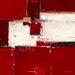 """DEInternationalGraphics """"Red I"""" von Ron van der Werf, Kunstdruck"""