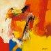 """DEInternationalGraphics """"Orange"""" von Pascal Magis, Kunstdruck"""