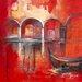 """DEInternationalGraphics """"Venise Mystérieuse II"""" von Annie Manero, Kunstdruck"""
