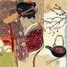"""DEInternationalGraphics """"Asia Tea"""" von Sabine Gotzes, Kunstdruck"""