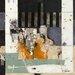 """DEInternationalGraphics """"Spring IV"""" von Karin Planker, Kunstdruck"""