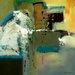 "DEInternationalGraphics ""Abstract in Green I"" von Natasha Barnes, Kunstdruck"