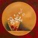"""DEInternationalGraphics """"Bouquet de fleurs I"""" von Bernadette Triki, Kunstdruck"""