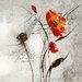 """DEInternationalGraphics Acrylglasbild """"Petite aventure fleurie II"""" von Isabelle Zacher-Finet, Kunstdruck"""