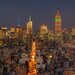 """DEInternationalGraphics Acrylglasbild """"Skyline"""" von Aurélien Terrible, Fotodruck"""