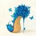 "DEInternationalGraphics  ""Sketches of Love II"" von Inna Panasenko, Kunstdruck"