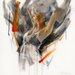 "DEInternationalGraphics Acrylglasbild ""Modest III"" von Kitty Meijering, Kunstdruck"